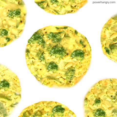 Broccoli, Rice & Cheese Casserole Minis {vegan}
