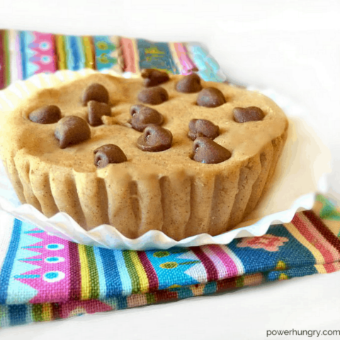 Vegan Chocolate Chip Cookie Dough Protein Bars