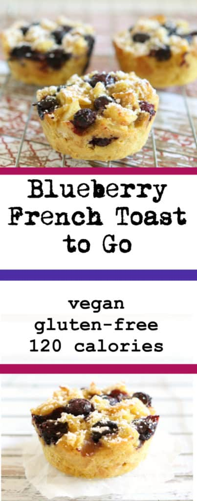 blueberry french toast collage