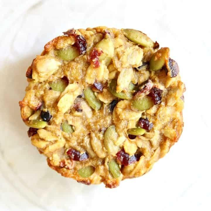 Chickpea Flour Breakfast Cookies {vegan, grain-free, oil-free}