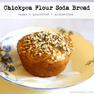 #54: Chickpea Flour Soda Bread {vegan+grainfree+glutenfree}
