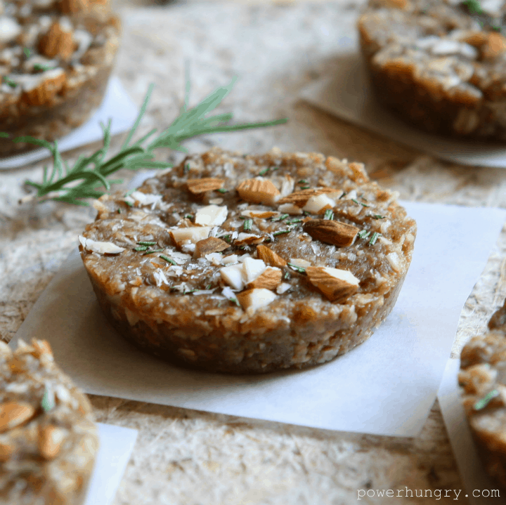 rosemary almond pucks 2
