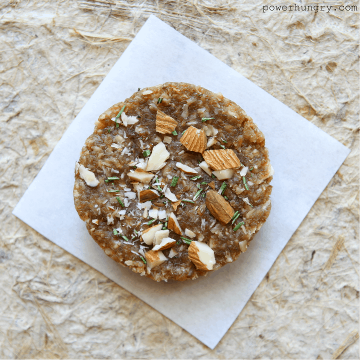 rosemary almond pucks 4