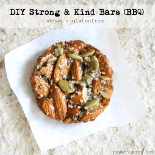 #52: DIY Strong & Kind Bars–BBQ {vegan + gluten-free}