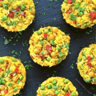 #77: Portable Paella Pucks {vegan+glutenfree}