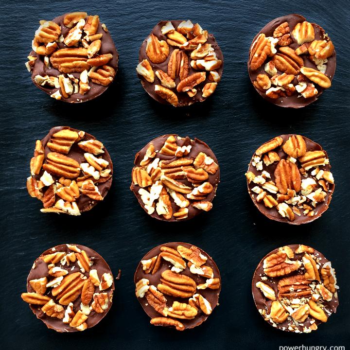 Chocolate Pecan Pie Protein Bars {Vegan, Gluten-Free}