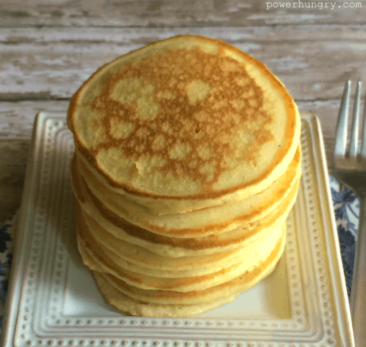 Blender oat pancakes vegan gluten free flourless power hungry when i say easy i mean it no matter how frazzled your morning you can make this batter in seconds everything goes into the blender for a high speed ccuart Image collections