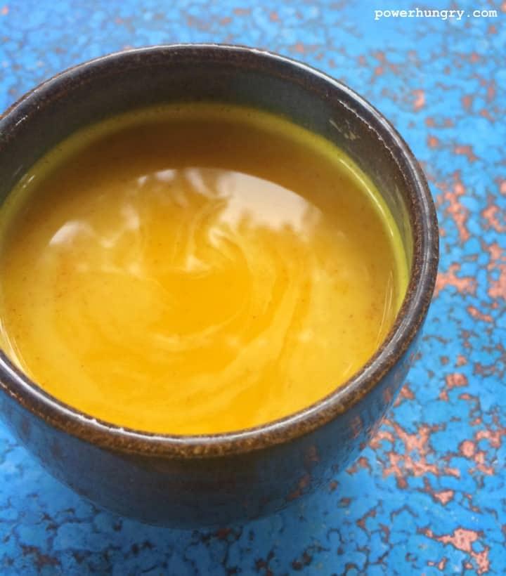 turmeric latte how to make