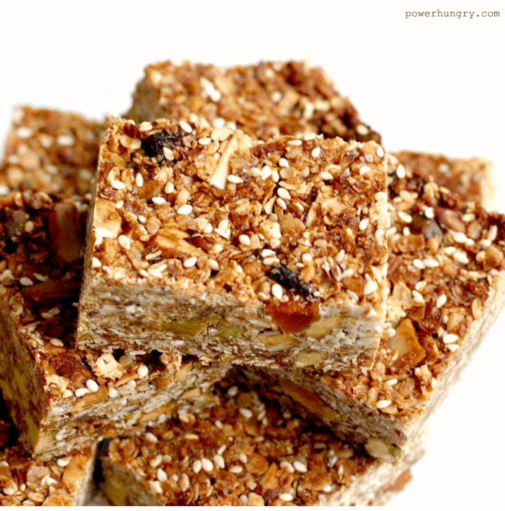 Vegan Protein Bars (no protein powder!) | power hungry