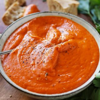 Romesco Sauce {or Dip, or Spread}