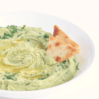Creamy Broccoli Hummus