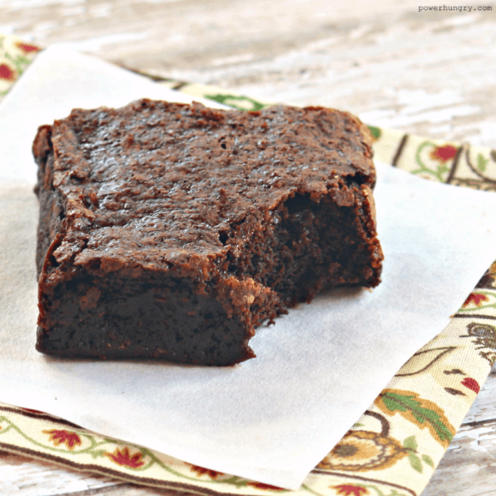 One-Bowl Chickpea Flour Brownies