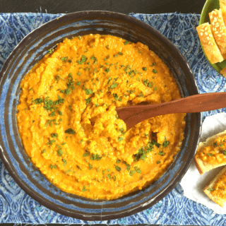 Red Lentil, Coconut & Lime Dal Spread