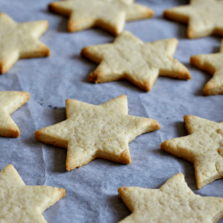 Coconut Flour Cut-Out Cookies {paleo with vegan option}
