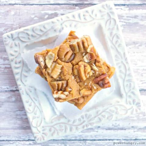 Coconut Flour Sweet Potato Blondies {paleo & vegan}