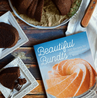 Decadent Chocolate Bundt Cake {V + GF} & Cookbook Giveaway