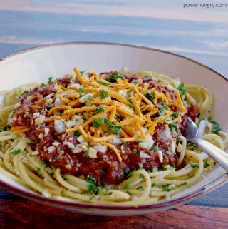 Cincinnati Chili {V, GF & Grain-Free Option}
