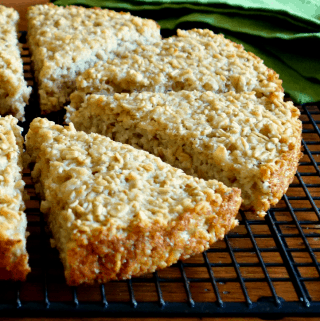 Irish Oat Scone Bread {V + GF}