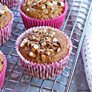 Hummingbird Muffins {Grain-free & Vegan}