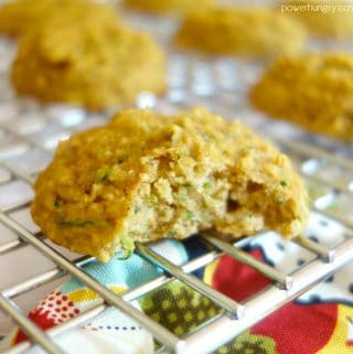 Zucchini Bread Breakfast Cookies {Grain-Free, Vegan}