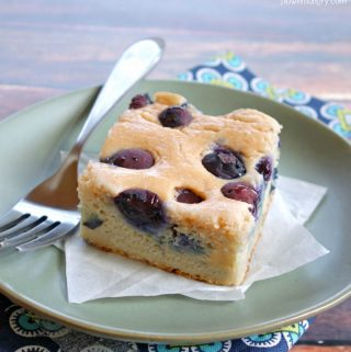Blueberry Breakfast Bread {Grain-Free, Vegan}