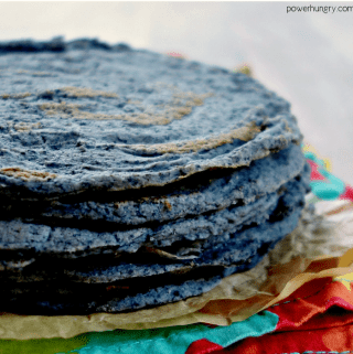 1-Ingredient Black Bean Tortillas {Grain-Free, Vegan}