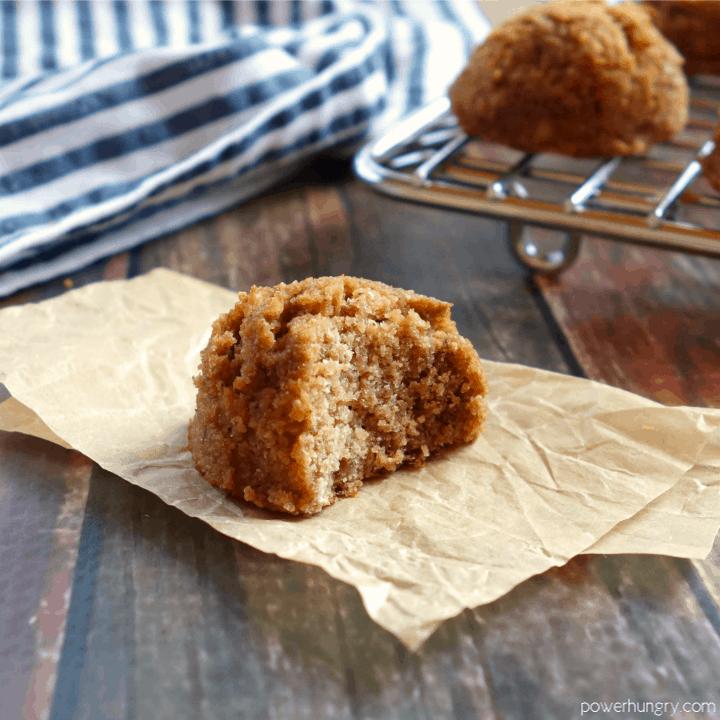 Coconut Flour Lentil Cookies {Grain-Free, Vegan}