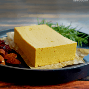 Chickpea Flour Cheddar Cheese {Vegan, Oil-Free, Nut-Free, Soy-Free}