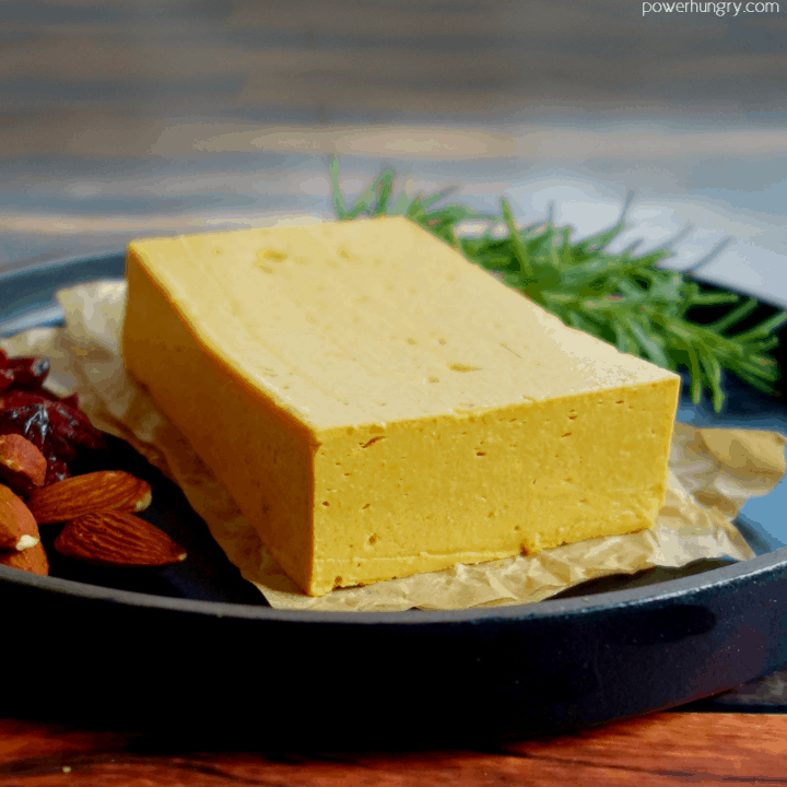 Chickpea Flour Cheddar Cheese {Vegan, Nut-Free, Soy-Free}