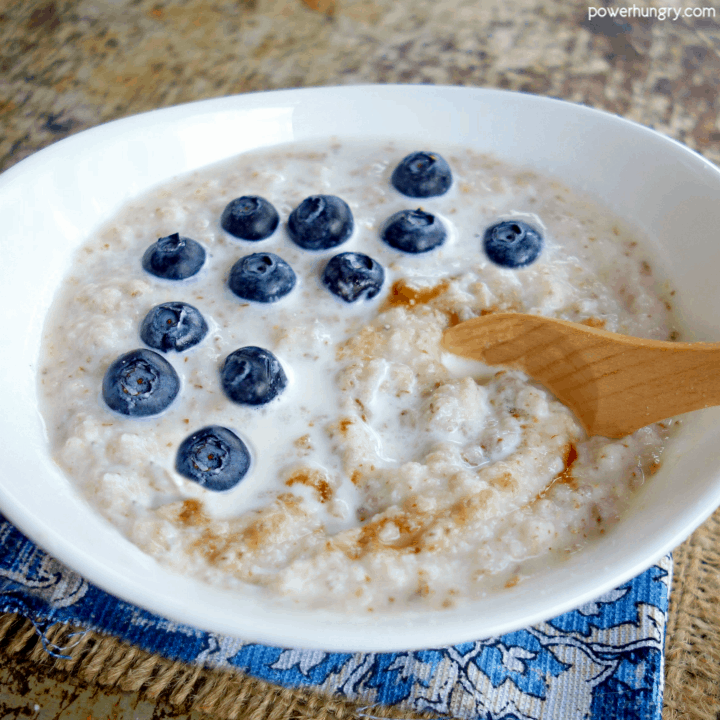 Coconut Flax Porridge {Vegan, Keto, 2-Ingredients}