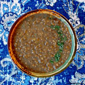 3-Ingredient Lentil Soup {Vegan, High Protein}