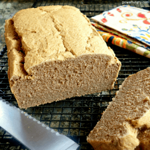 5-Ingredient Lentil Loaf Bread {grain-free, vegan}