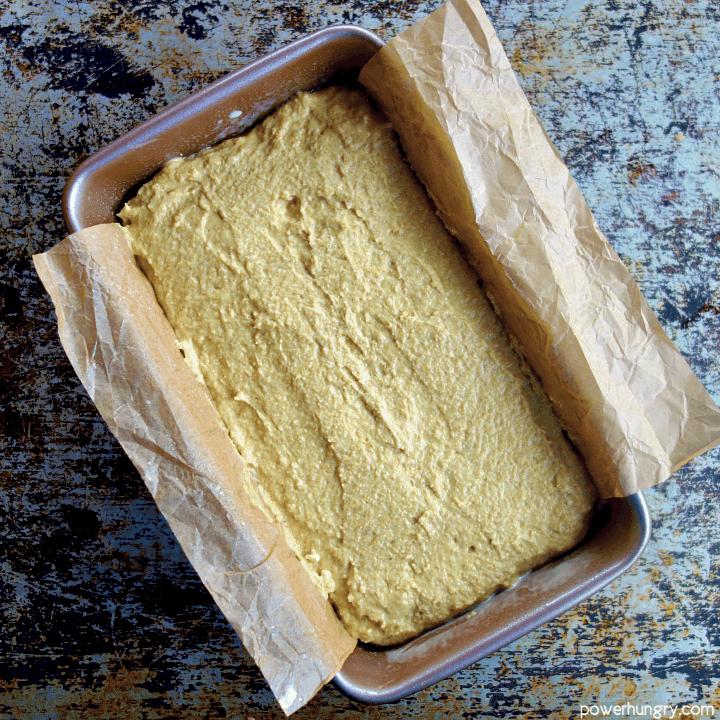 unbaked loaf of lentil bread