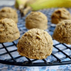 Banana Coconut Flour Cookies {Vegan, Grain-Free}
