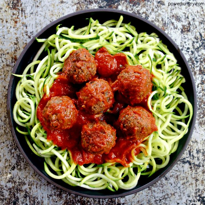 Lentil and Mushroom Meatballs {Vegan, High Protein, Grain-Free, Nut-Free}