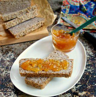 1-Ingredient Buckwheat Bread {easy, flourless, gluten-free}