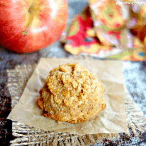 3-Ingredient Fresh Apple Almond Flour Cookies {vegan, grain-free, oil-free, Paleo}