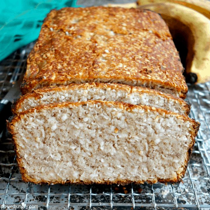 4-Ingredient Banana Bread {vegan, paleo, oil-free, no added sugar}