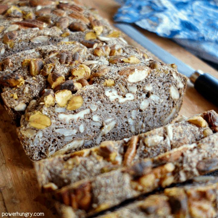 Coconut Flour Power Bread {vegan, keto, oil-free}